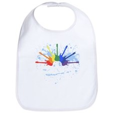 Guitar Rainbow Bib