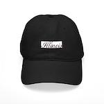 Vintage Illinois Black Cap