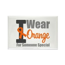 I Wear Orange (Special) Rectangle Magnet