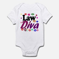 Law Diva (flowers) Infant Bodysuit