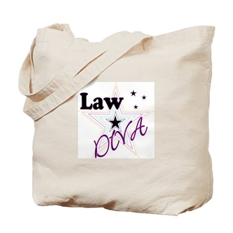Law Diva (Star) Tote Bag