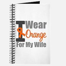 I Wear Orange (Wife) Journal