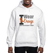 I Wear Orange (Attitude) Hoodie
