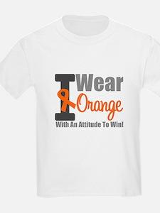 I Wear Orange (Attitude) T-Shirt