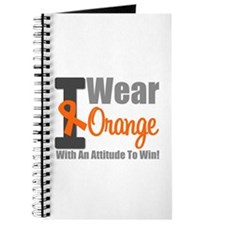 I Wear Orange (Attitude) Journal