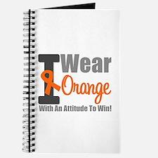I Wear Orange (Attitude) Journal