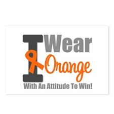 I Wear Orange (Attitude) Postcards (Package of 8)