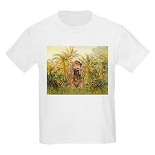 Palms/Cocker Spaniel (brown) T-Shirt