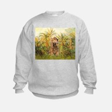 Palms/Cocker Spaniel (brown) Sweatshirt