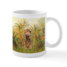 Palms/Cocker Spaniel (brown) Small Mug