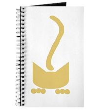 Mustard Pounce Cat Journal