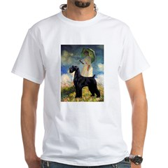 Umbrella/Giant Schnauzer (black) Shirt