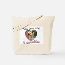 Animal Lovers Unite! Tote Bag