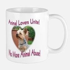 Animal Lovers Unite! Mug (2-sided)