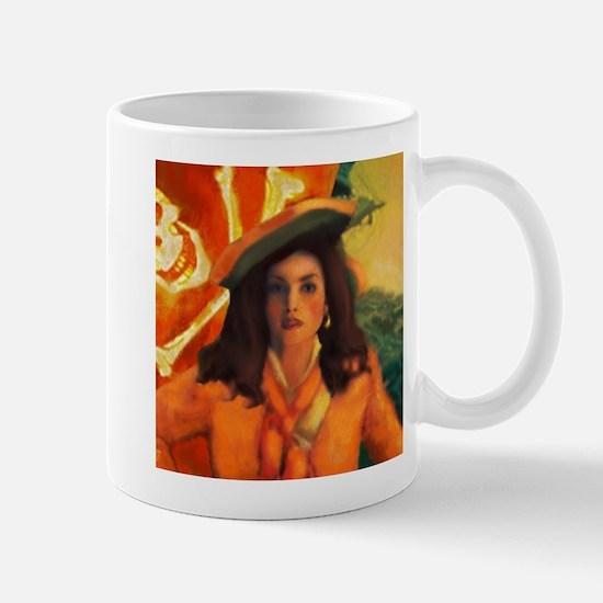 Anne Bonny and the Orange Rog Mug