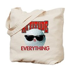 Attitude is Everything - Golf Tote Bag