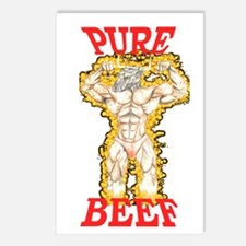 PURE BEEF Postcards (Package of 8)