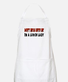 Don't Mess With Me LUNCH LADY BBQ Apron