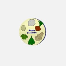 Seder Plate Mini Button