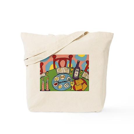 Seder Table Tote Bag