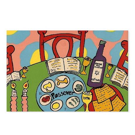 Seder Table Postcards (Package of 8)