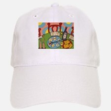 Seder Table Baseball Baseball Cap