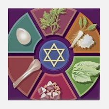 Seder Plate Other Tile Coaster