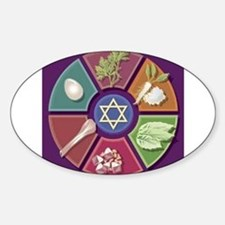 Seder Plate Other Oval Decal