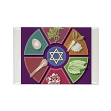 Seder Plate Other Rectangle Magnet