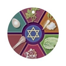 Seder Plate Other Ornament (Round)