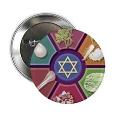"""Seder Plate Other 2.25"""" Button (10 pack)"""