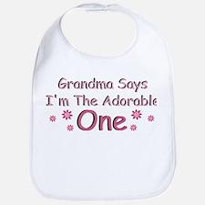 Grandma Says Adorable Bib