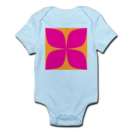 Pink and Orange Shirts Infant Creeper