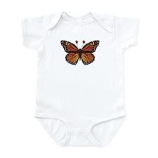 Unique Black butterfly Infant Bodysuit