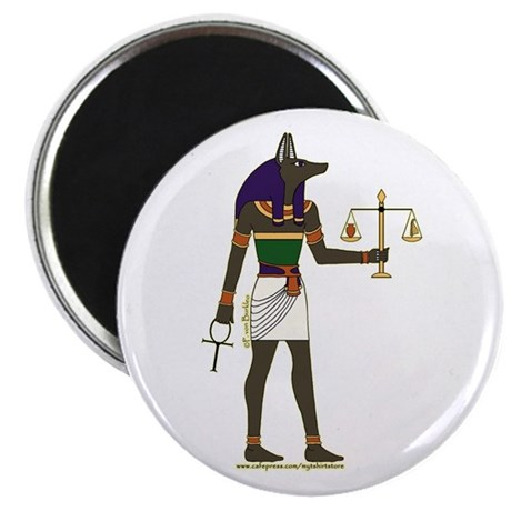 Cool Anubis Picture Magnet