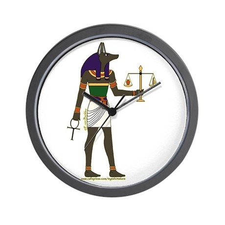Cool Anubis Picture Wall Clock