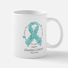 OC Butterfly Ribbon Small Mugs