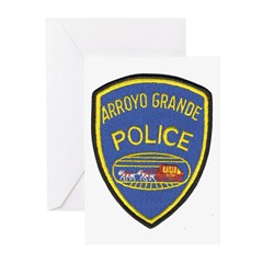 Arroyo Grande Police Greeting Cards (Pk of 10)