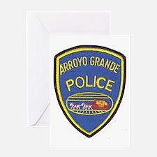 Arroyo Grande Police Greeting Card