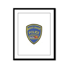 Arroyo Grande Police Framed Panel Print