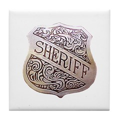 High Sheriff Tile Coaster