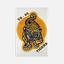 VA 65 Tigers Rectangle Magnet