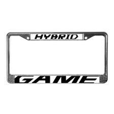 Hybrid Game License Plate Frame