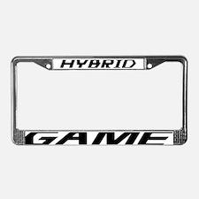Hybrid Game License Plate Frame
