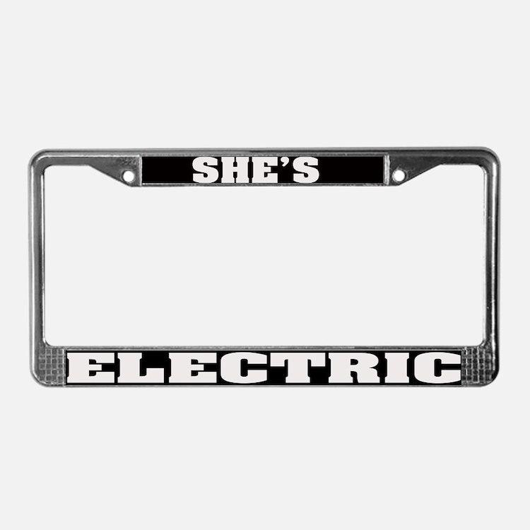 Tesla License Plate Frame - Proga | Info