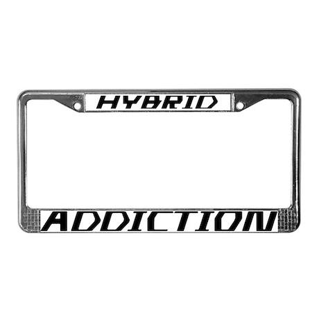 Hybrid Addiction License Plate Frame
