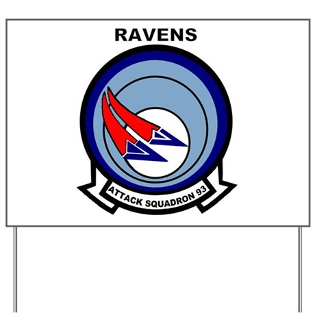 VA 93 Ravens Yard Sign