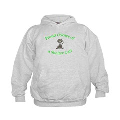 Proud Shelter Cat Owner! (HUMANE SOCIETY) Hoodie