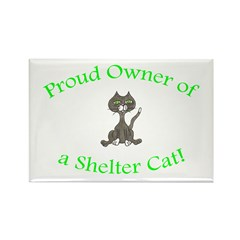 Proud Shelter Cat Owner! (HUMANE SOCIETY) Rectangl