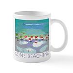 Gone Beaching - Beach Mug